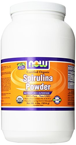 Now Foods Spirulina Powder, 4-Pounds