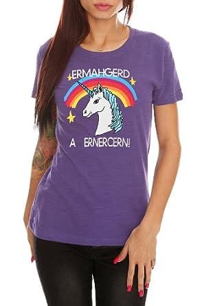Ermahgerd A Ernercern! Girls T-Shirt Size : X-Small