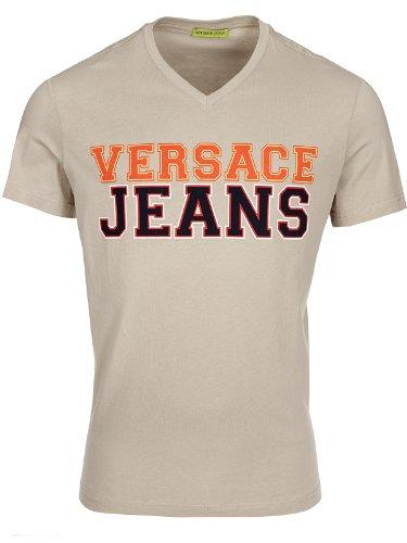 Versace Jeans Couture T-Shirt (M-03-Ts-30560) - 52(DE) / 52(IT) / 52(EU) - beige