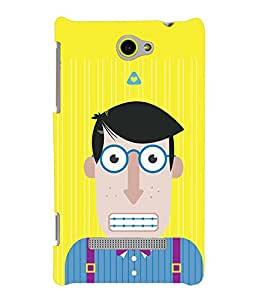 TOUCHNER (TN) Office Boy Back Case Cover for HTC 8S::HTC Windows Phone 8S