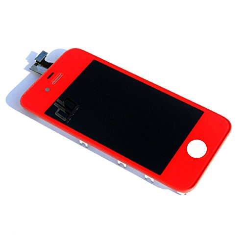 Dbpower® Red Replacement Lcd + Touch Digitizer Screen Assembly For Iphone 4S