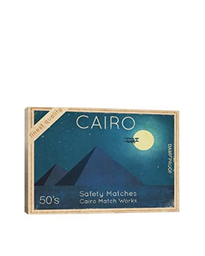 Terry Fan Cairo Safety Matches #2 Gallery-Wrapped Canvas Print