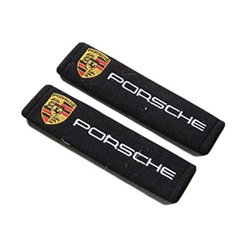 Summer6688 Car Safety Seat Belt Shoulder Comfortable Pads Covers Cushion For Porsche
