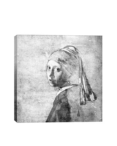 Girl With A Pearl Earring VI Gallery Wrapped Canvas Print