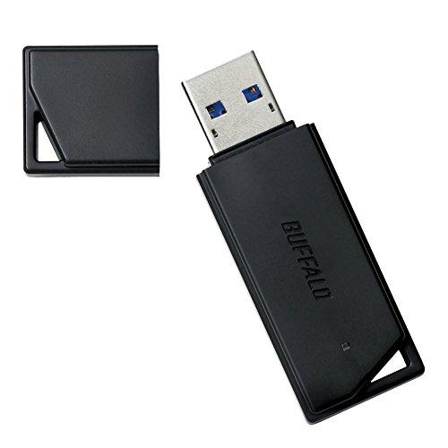 BUFFALO USB2.0用 どっちもUSBメモリー 【ドラゴンクエストX動作確認済み】 16GB ブラック RUF2-K16GR-BK