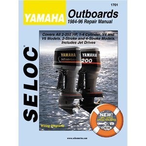 SELOC SERVICE MANUAL YAMAHA 2 - 4 STROKE OUTBOARDS 1984-96
