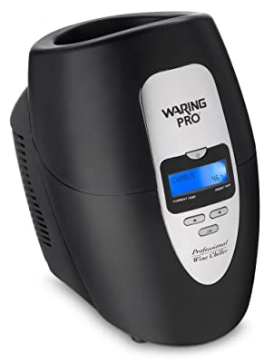 Waring Pro PC100 Wine Chiller, Black
