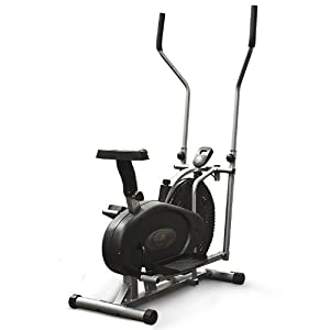 2 in 1 Fitness Elliptical Cross Trainer & Exercise Bike