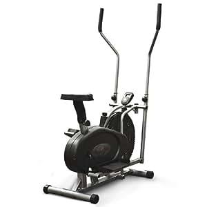 2 in 1 Fitness Elliptical Cross Trainer & Exercise Bike