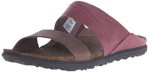 Merrell AROUND TOWN SLIDE, Damen Sandalen, Violett