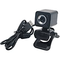 LING S SHOP Hd 1080P Web Cam USB Webcams Online 4 LED Night Vision Live Cam For PC Desktop Laptop