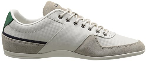Lacoste Men's Taloire 15 LCR Fashion Sneaker, Off White, 12 M US