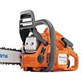 Husqvarna 435 16-Inch 40.9cc 2 Stroke Gas Powered Chain Saw (CARB Compliant)