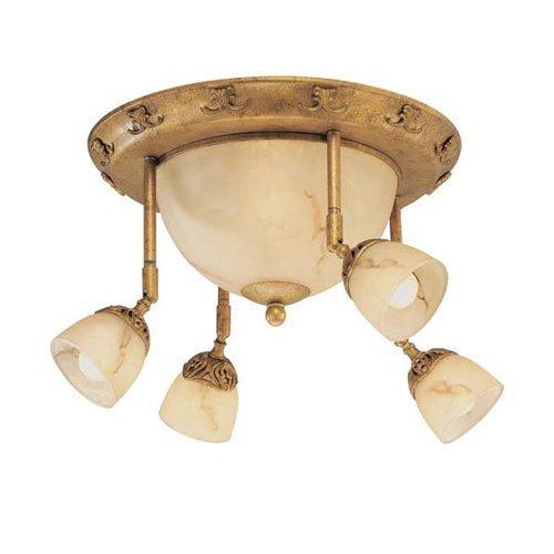 Eurofase 16259 010 Astoria 6 Light Track Gold Leaf Home