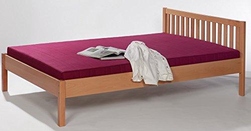 6-6-1726: schönes Bett – Stollenbett – Futonbett – Buche massiv – Liegefläche 90x200cm – Einzelbett jetzt bestellen