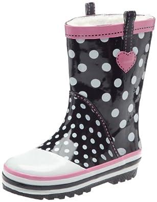 be only sylia bottes de pluie fille noir 27 eu chaussures et sacs. Black Bedroom Furniture Sets. Home Design Ideas