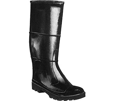 Tingley Rubber #31244.04 SZ4 Black Steel Toe Boots