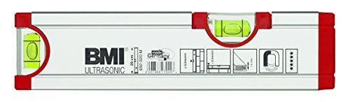 BMI-692020M-Wasserwaage-Ultrasonic-Lnge-20-cm-eloxiert-mit-Magnet