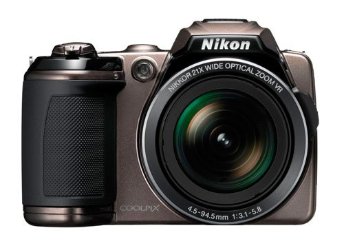 Nikon COOLPIX L120 14.1 MP Digital Camera with 21x NIKKOR Wide-Angle Optical Zoom Lens and 3-Inch LCD (Bronze)