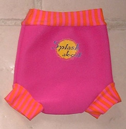 Splash About Happy Nappy (Reusable Swim Diaper) Pink Mango - 1