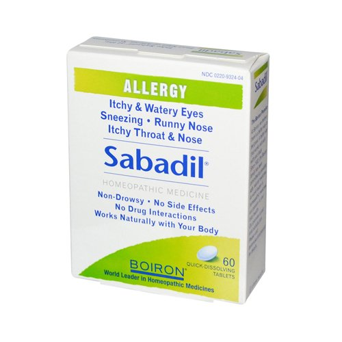 Boiron Sabadil Allergy 60 Tabs