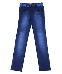 DUC Boy's Denim Dark Blue Jeans (kd08-db-36)