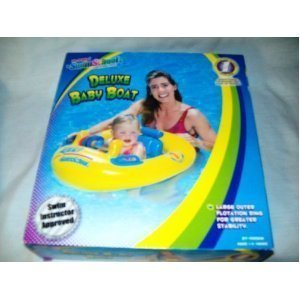 Swim School Deluxe Baby Float Boat with Inner Seat Chair-Ages 1 – 3 YEARS Swimming Pool Toy by Swim School by unk online bestellen