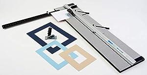 Logan Simplex Classic 40 Inch Mat Cutter (Color: Black, Tamaño: 40 in)