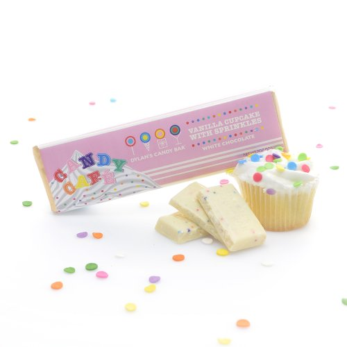 Dylan's Candy Bar - Vanilla Cupcake with Sprinkles
