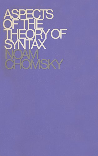 Aspects of the Theory of Syntax (Noam Ch compare prices)