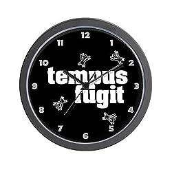 CafePress Wall Clock - Tempus Fugit 4 Wall Clock