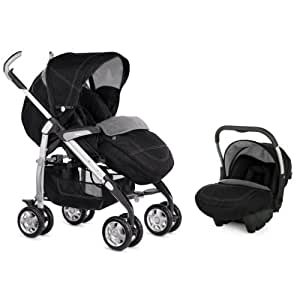 Silver Cross 3d Travel System Black Denim Amazon Co Uk