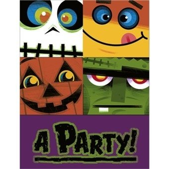 Halloween Pals Invitations