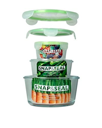 Snap & Seal Set of 3 Nested Round Storage Containers