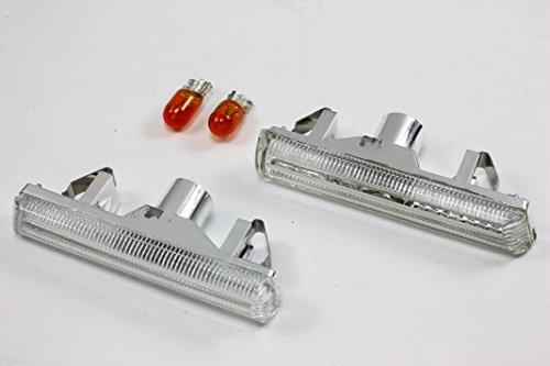 B2 2001-2006 BMW E46 M3 & 1995-2001 E38 SIDE MARKERS INDICATORS LIGHTS- Bulb Clear