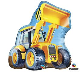 Construction Loader Jumbo Foil Balloon Party Accessory by Mayflower Distributing