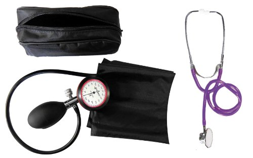 Blutdruckmessgerät Oberarm 1-Schlauch + Stethoskop