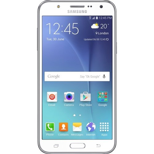 Samsung Galaxy J5 SM-J500H/DS GSM Factory Unlocked Smartphone, International Version (White) (Samsung Galaxy 5 Phone compare prices)