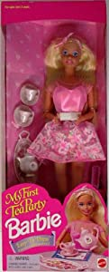 Barbie - MY FIRST TEA PARTY PARTY, 1995 EDITION, #14592. NRFB, WITH ALL ACCESSORIES
