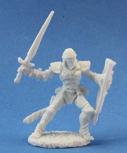 Reaper Miniatures 77023 Bones - Barnabas, Evil Human Warrior