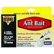 Bonide 45400 Revenge Ant Bait Liquid-3OZ RVNGE LIQ ANT BAIT