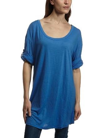Emu Australia NINGALOO TEE Womens T-Shirt BLUE Small