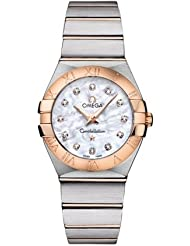 NEW OMEGA CONSTELLATION LADIES WATCH 123.20.27.60.55.001