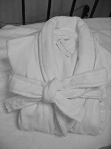 Charter Club Intimates 100% Cotton Terry Velour Spa Robe (Large)
