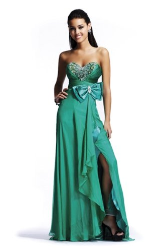 BG Haute C22072, Long Sweetheart Neckline Dress