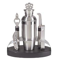 Oggi 7-Piece Stainless Steel Oval Bar Tool Set by Oggi