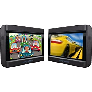 Nextbase Click & Go Click 9 Lite Duo Deluxe crash tested & approved twin DVD system