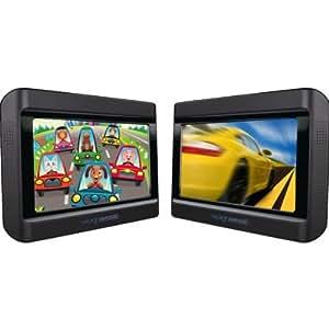 """Next Base Next 9 Lite Duo Deluxe Lecteur DVD Portable Double écrans 9"""" avec 2 lecteurs DVD intégrés"""