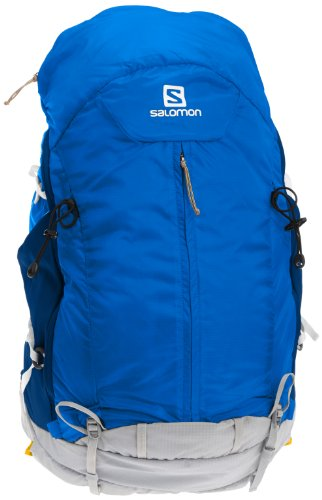 Salomon Synapse Flow 45 Backpack, Blue/Gold, Medium