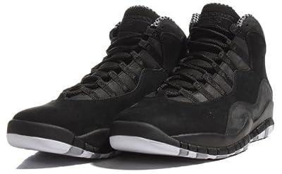 Air Jordan 10 Retro Black/White Stealth